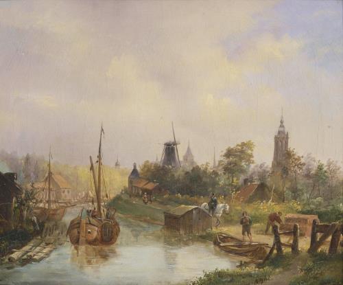 Eem vanaf de Zandhopen N. Berkhout (1841), COLLECTIE mUSEUM fLEHITE.jpg