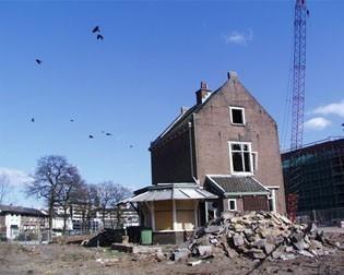 (1) 2003 CSG 6 of 7 mei sloop portierswoning Soesterweg 2.JPG